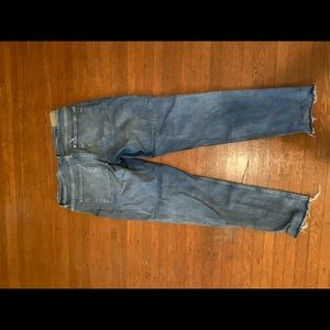 Light washed out jeans